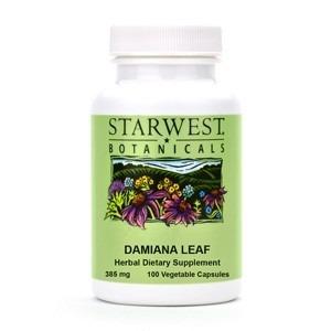 Damiana Leaf Capsules - 100/btl | 498345 06 25