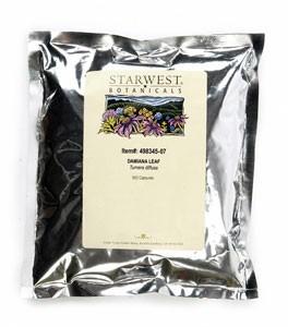 Damiana Leaf Capsules - 500/bag | 498345 07 20
