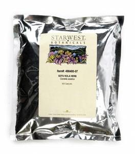 Gotu Kola Herb Capsules - 500/bag | 498480 07 20