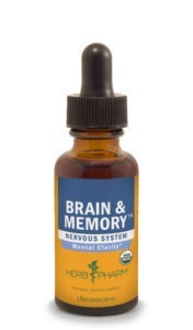 Brain & Memory Liquid Extract (Herb Pharm)