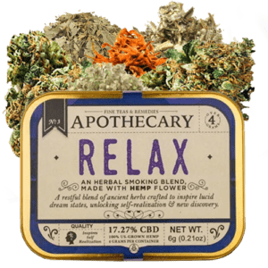 Relax-CBD-Fumeur-Fleur - Frères Apothicaire